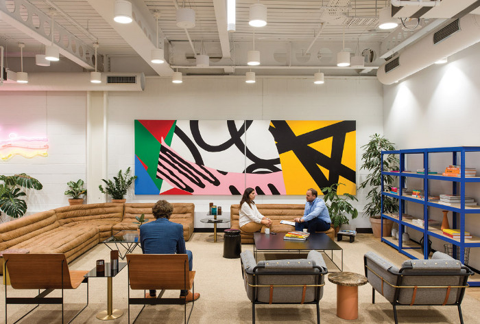Co-working spaces have led to some corporate workplaces, with their more traditional look and feel and lower levels of investment, being compared unfavourably to their flexible counterparts