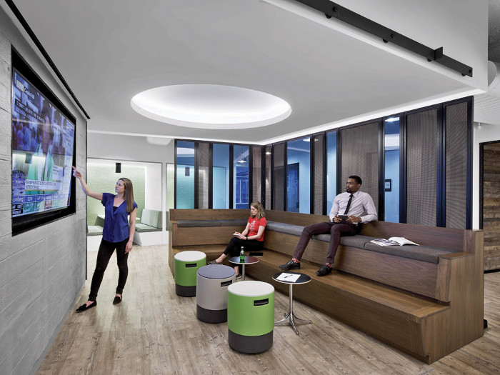 The design rationale for Blackstone Innovation's 30,000 sq ft office in the heart of Lexington Avenue was to create an agile environment that fosters provocative thinking