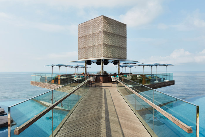 Bali's Omnia Dayclub was designed by the Rockwell Group