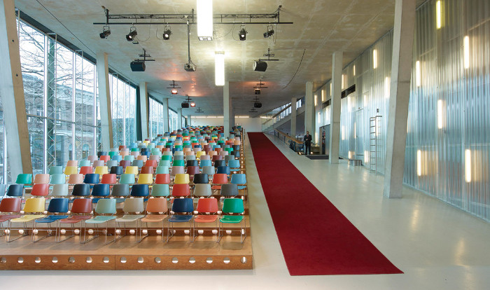 Koolhaas designed the Kunsthal exhibition space in Rotterdam