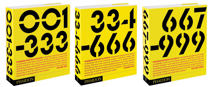 The three-volume Phaidon Design Classics