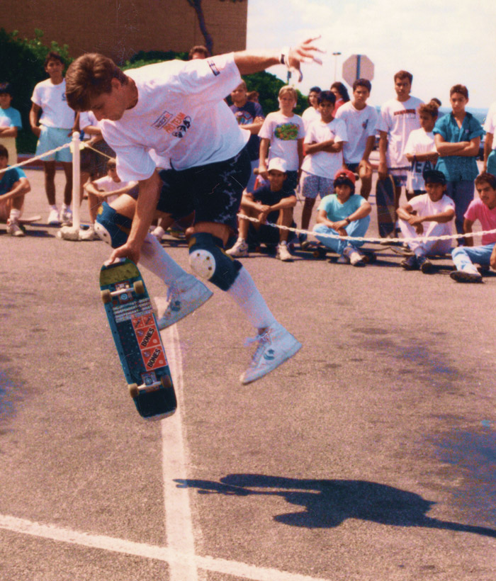 The legendary skateboarder Rodney Mullen. Image Credit: DJW