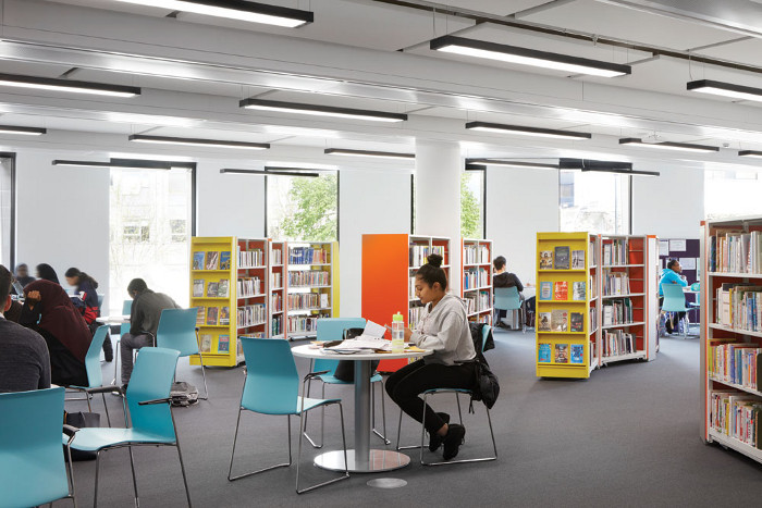 The new civic centre brings facilities including the public library into a more central location