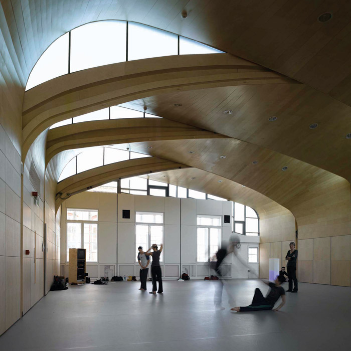 Wigglesworth wants to do more projects like Siobhan Davies Studios. Credit: Richard Bryant