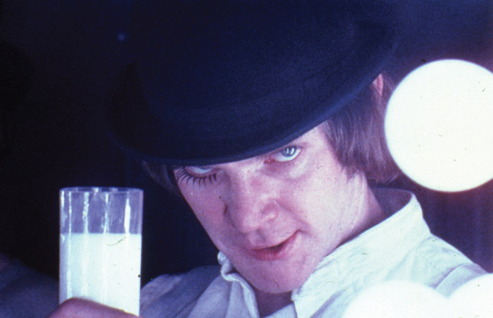Kubrick's controversial movie, A Clockwork Orange