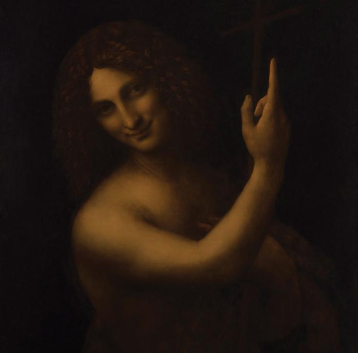 Image credit: Leonard De Vinci / Saint Jean Baptiste / Rmn-Grand Palais Musee Du Louvre / Tony Querrec.