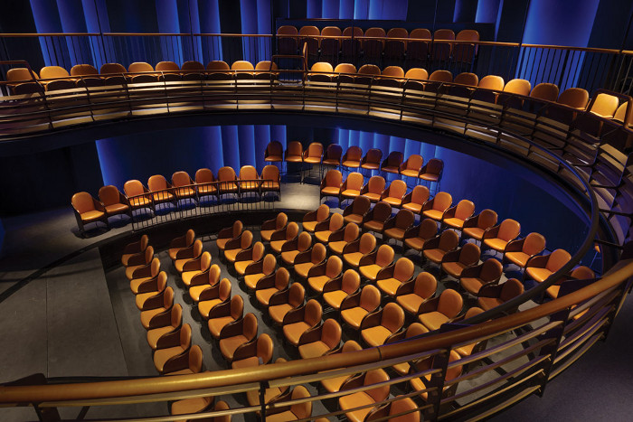 The brand new 165-seat Boulevard theatre in Soho. Image credit: Tom Lee.