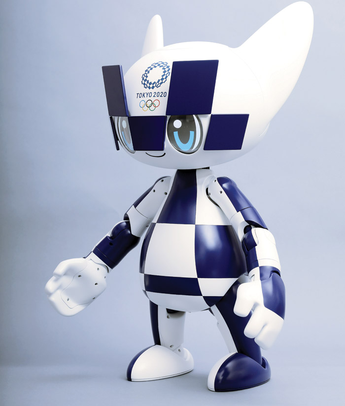 Miraitowa is the official mascot of the Tokyo games