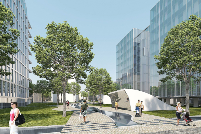 Fredrikstad Cicignon Park in Norway is a new Niels Torp project