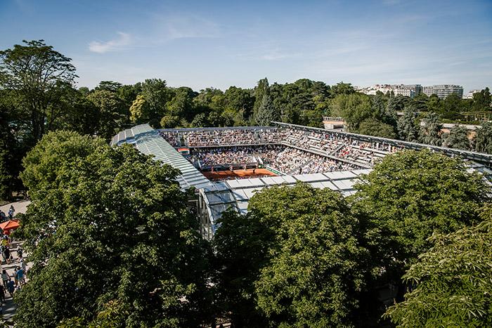 Court Simonne-Mathieu, Roland Garros, Paris. Image Credit: Pauline Ballet / FFT