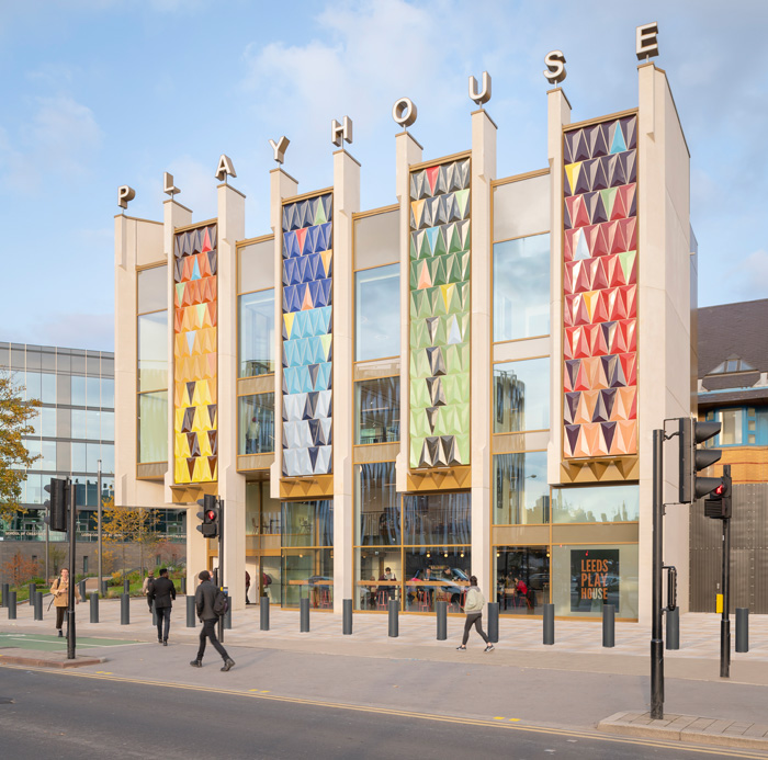 The new entrance increases the theatre's presence on St Peter's Street