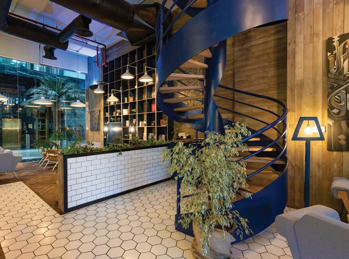 Liqui's portfolio includes several interiors for Brew92, a Saudi Arabian-based speciality cafe and roastery
