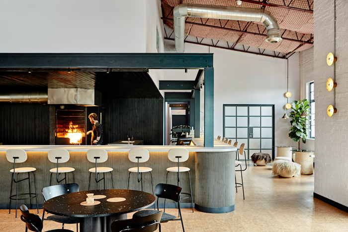 Silo Restaurant by Nina+Co Design. Image Credit: Sam A Harris