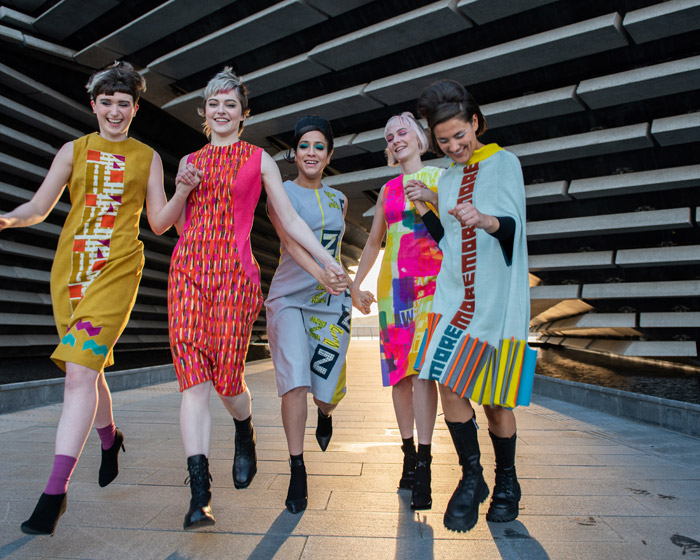 The 21st Century Quant project featured fashion designs from students inspired by Mary Quant. Image Credit: Aleksandra Modrzjewska