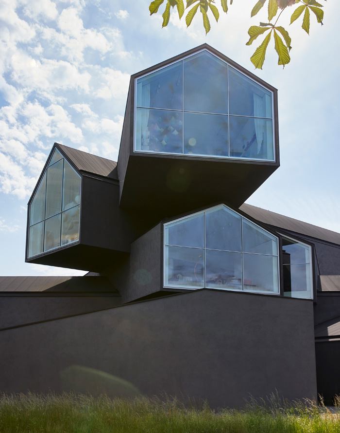 The Vitra House itself was designed by Herzog & de Meuron