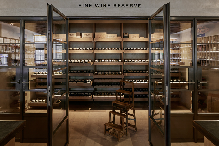Berry Bros & Rudd's shopfloor is not designed according to fashion but durability and permanence. Image Credit: Chris Horwood