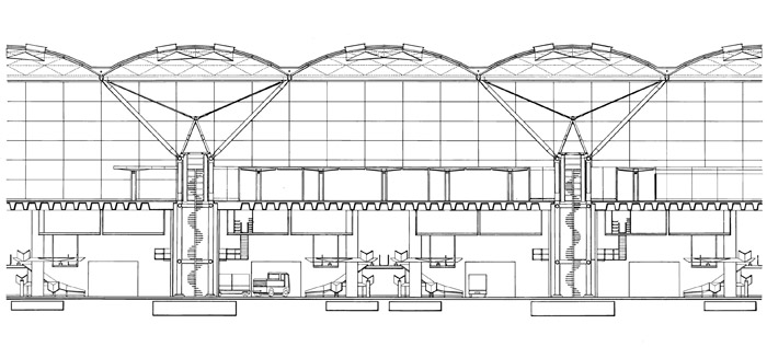 Norman Foster's design for Stansted