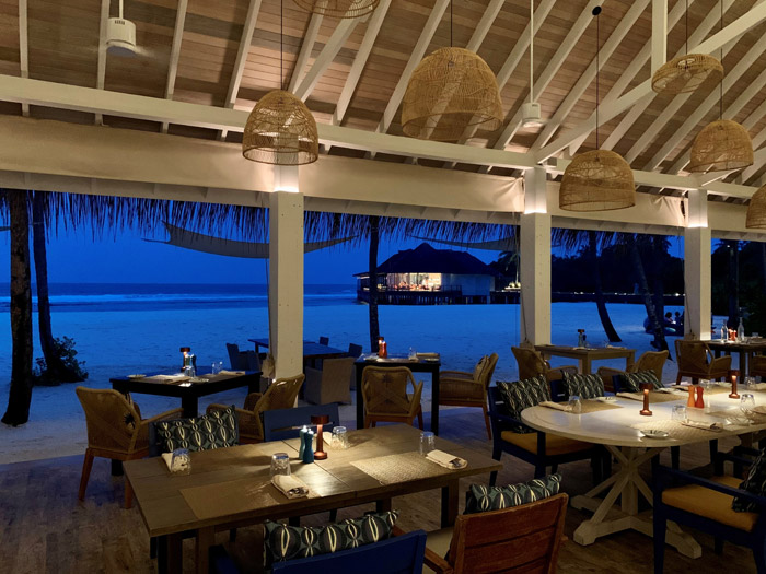 MBLD's Finolhu Resort, Maldives, has proved that simplified design is more likely, and the use of dim-to-warm technology is increasingly widespread