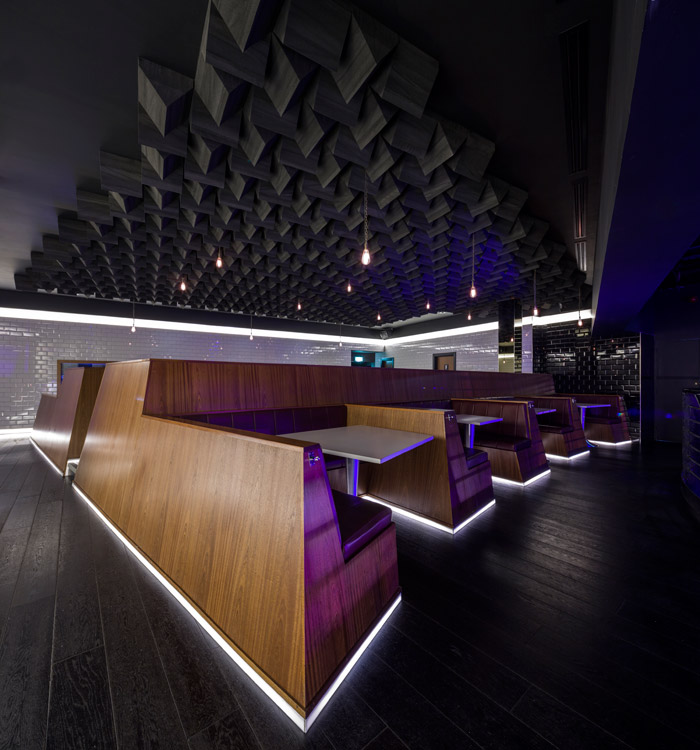 London's Ministry of Sound club was completely redesigned by Nicholls and her team