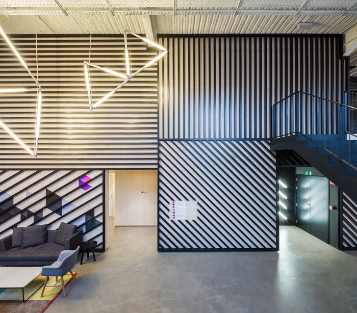 Google's campus in Madrid, renovated from a 19th century battery factory by Jump Studios