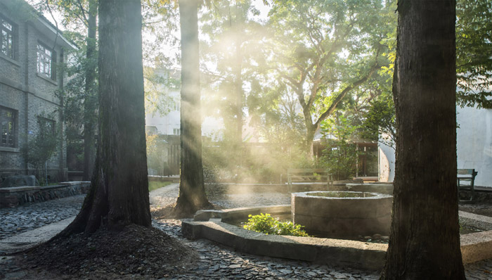 Courtyards allow guests and visitors to assimilate the peace and quietude of Songyang County