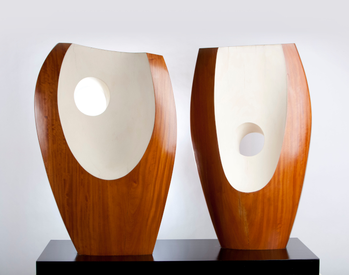 Two Forms with White, 1963. Image Credit: JONTY WILDE