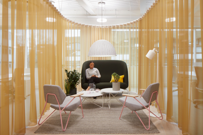 meeting rooms are both more and less formal