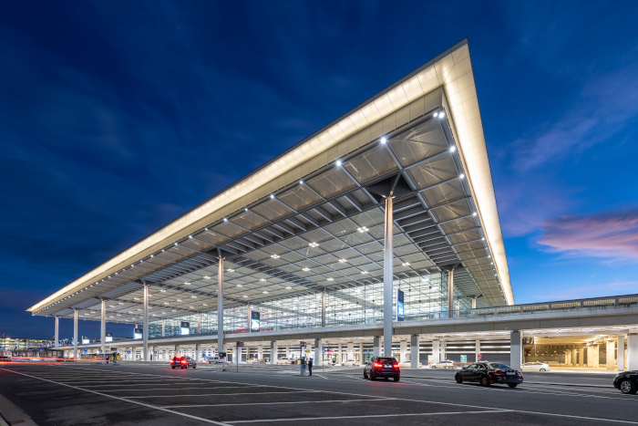 Long overdue, the airport only opened for business last October. Image Credit: GÜNTER WICKER
