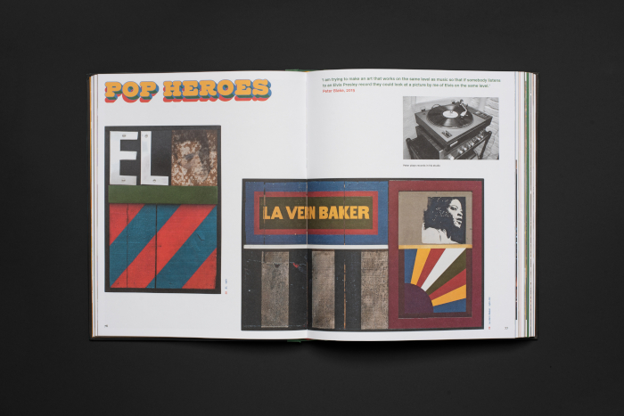 Peter Blake: Collage monograph released