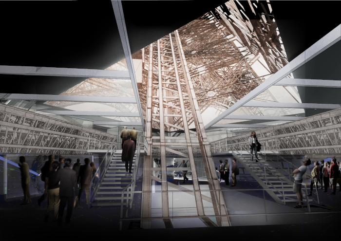This image The project will be as attractive to Parisians as it will to tourists. Image Credit: CHARTIER-CORBASSON