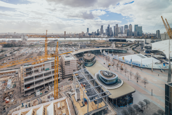 Image Credit: TARAN WILKHU. Currently in construction, the Design District team hope to have its first tenants in place by the end of this year