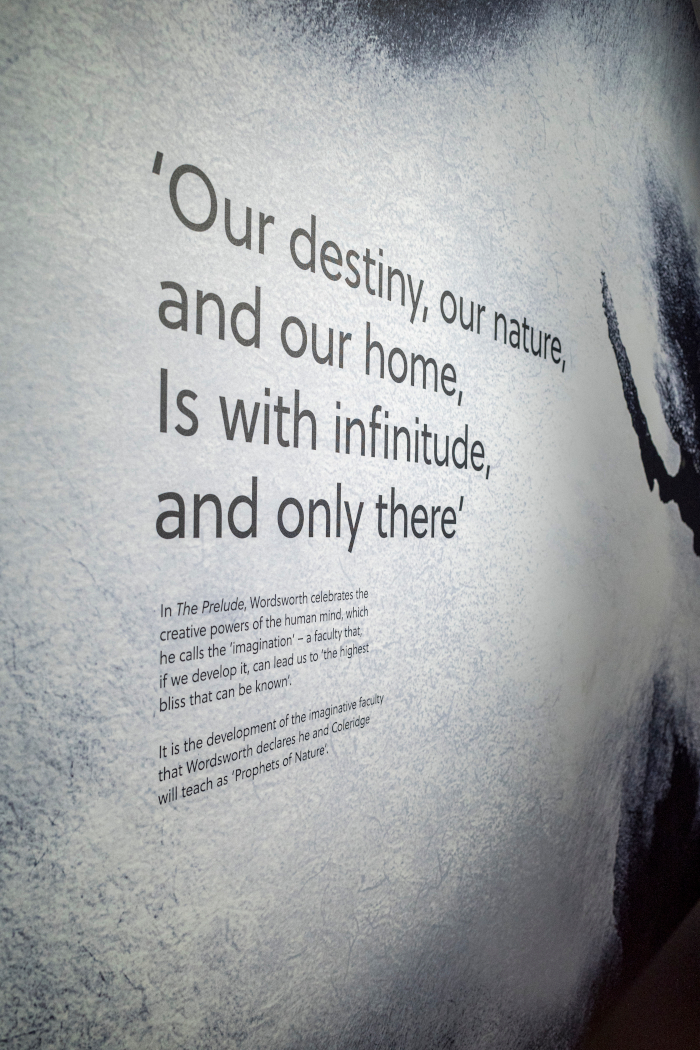 the material-focused redesign helps to bring Wordsworth's words to life