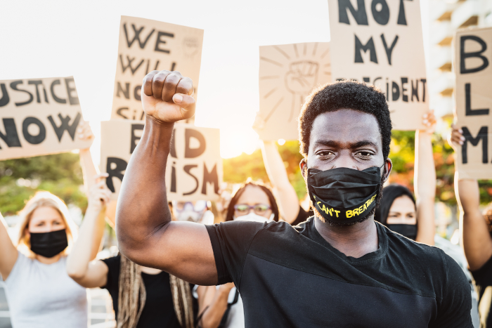 Black Lives Matter represents some of the most radical contemporary thought, Tonkin believes. Image Credit: ALESSANDROBIASCIOLI/SHUTTERSTOCK.COM