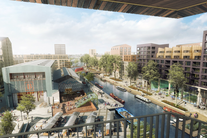 This image Meridian Water's 25-year development will provide some tantalising leisure and living facilities on the Lee Valley waterfront