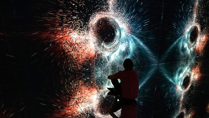 This image Two of the key founding principles of Amsterdam's Nxt Museum are its multisensory and multidisciplinary approach. Image Credit: MARSHMALLOW LASER FEAST