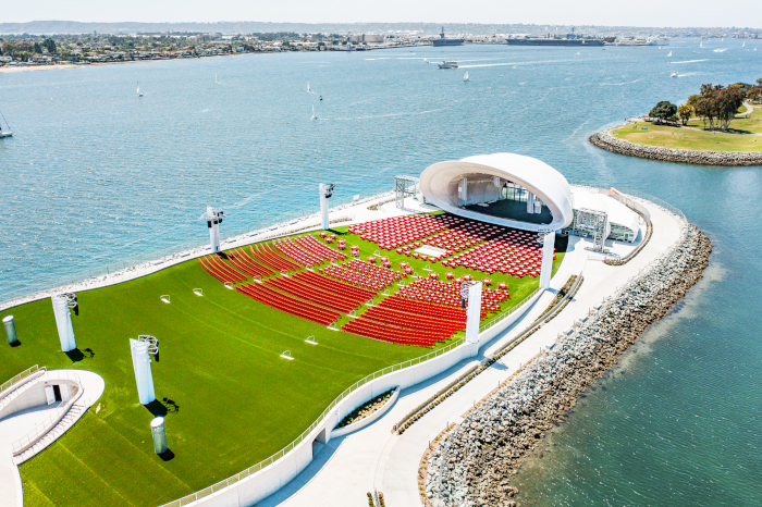 The Rady Shell at Jacobs Park, San Diego. Image Credit: SAN DIEGO SYMPHONY
