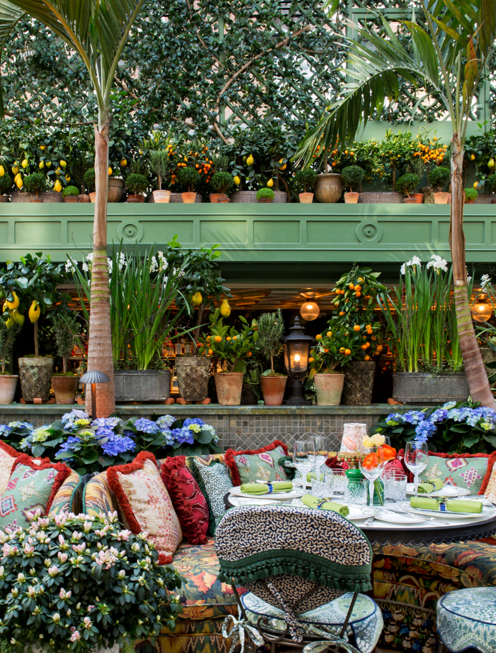 garden room. Image Credit: ANNABEL'S