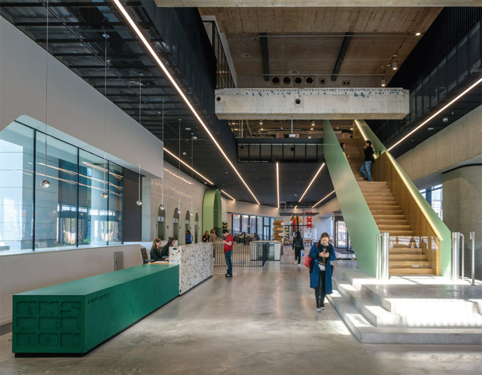 UK Project of the year Winner: WPP Amsterdam Campus, Amsteldok by BDG Architecture + Design