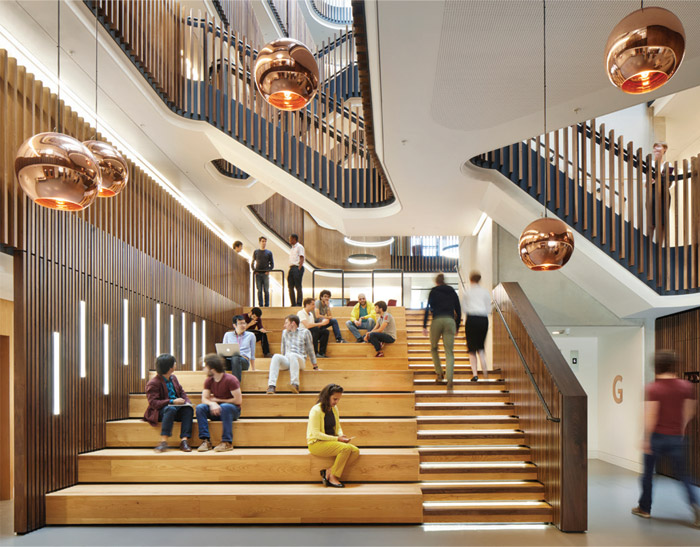 Workspace Environment Small (Under 40,000 Sq Ft)  Winner: The Beecroft Building by Hawkins\Brown