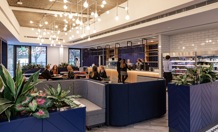 Radius's four-storey HQ is home to 500 staff. Image Credit: SG Photography Ltd