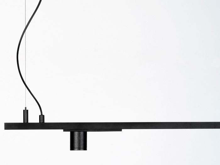 Minimal Track is a 24V surface track system, with ultra-slim profile, as well as miniaturised luminaires and components. Image Credit: HRH