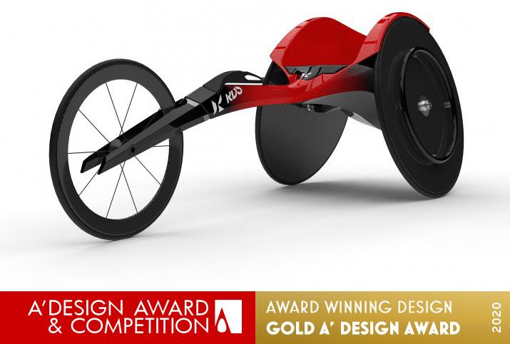 WF01TR Racing Wheelchair by RDS Co., Ltd.
