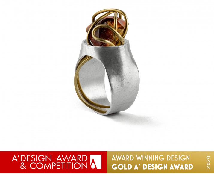 Code Ring Jewelry by Salomeh Sorouri and Salvi Samiei Kashi