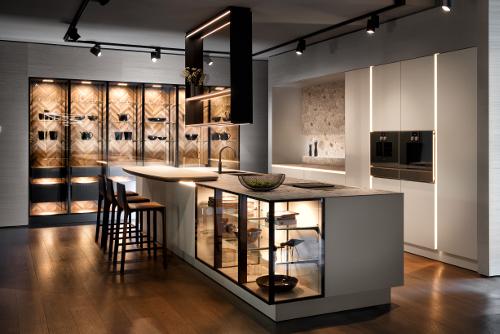 Concept For Purist Kitchen Design, Siematic Kitchen Cabinet Dimensions