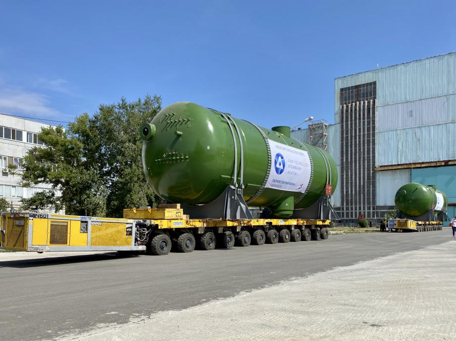 Atommash has shipped the steam generators for Tukey's Akkuyu nuclear power plant
