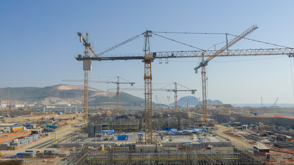 Akkuyu construction site picture in September 2020 (Credit: Akkuyu Nuclear)