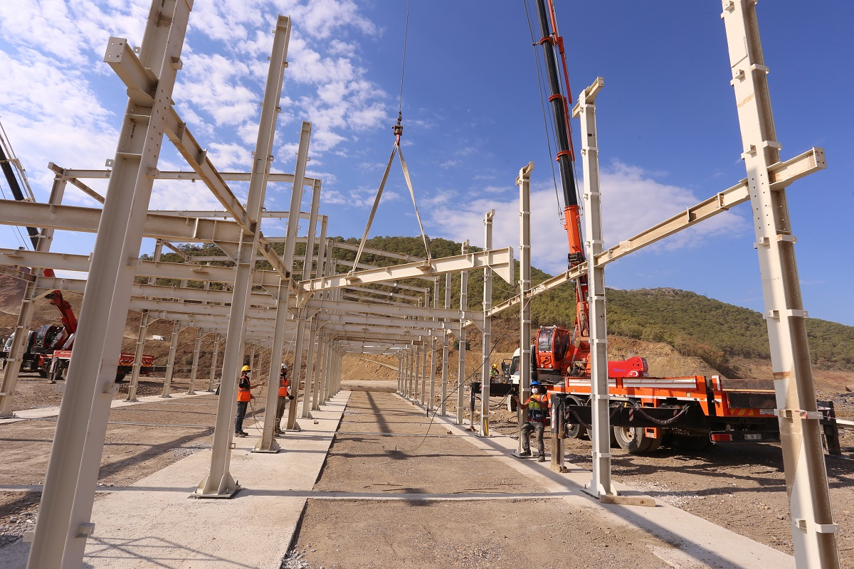 Titan 2 has started work on accommodation village for those working on Turkey's Akkuyu nuclear plant (Credit Titan-2)