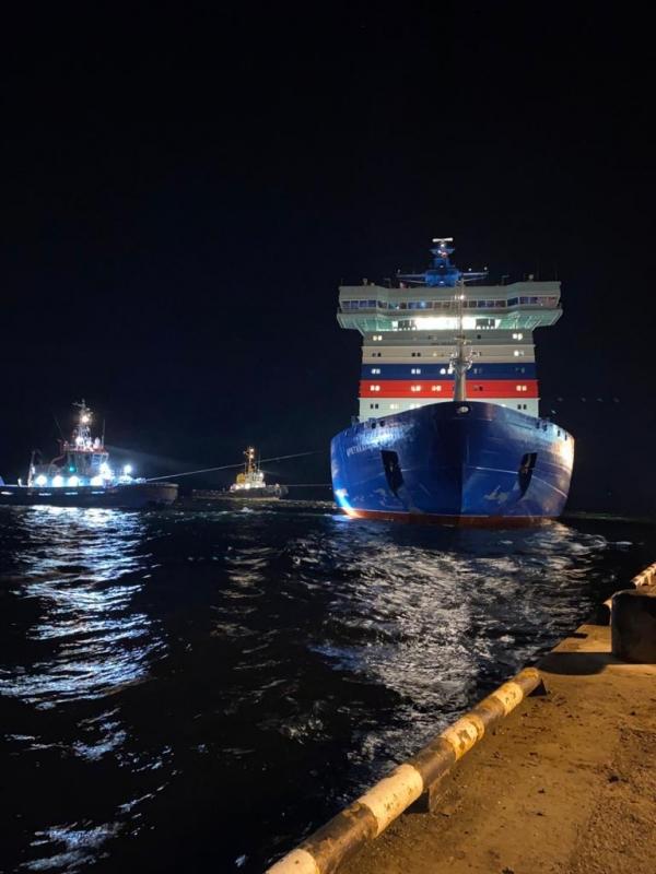 Arktika set out on its first Voyage in November (Photo: Rosatomflot)