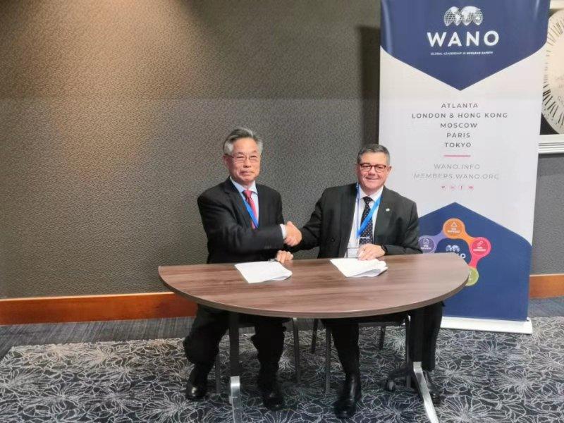 CNEA and WANO signed a MOU (Credit: CNEA)