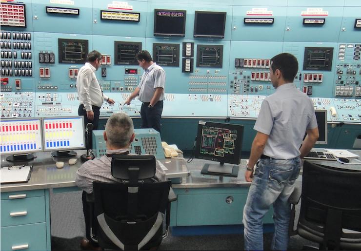 Cernavoda nuclear power plant simulator